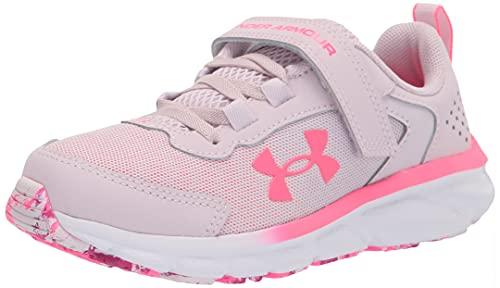 Under Armour girls Pre-school Assert 9 Alternate Closure Running Shoe, Cool Pink (600 Cerise, 13.5 Little Kid US