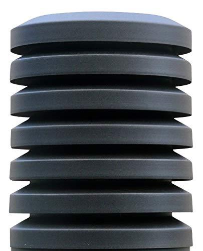 Sombrero chimenea PARAVENT Diámetro 150mm. Galvanizado Oxirón Negro …