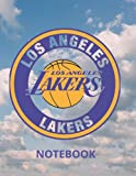 Los Angeles Lakers Cover Design Notebook: Large 8.5 X 11 with 120 Pages with Lebron James Jersey Number (Basketball Stars)