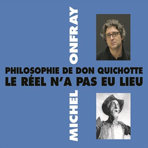 Philosophie de Don Quichotte  audiobook cover art