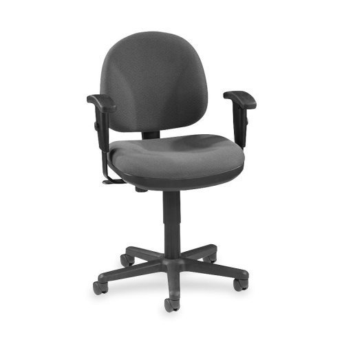 Lorell Adjustable Task Chair, Gray