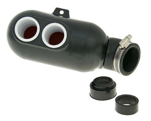 Bike Equipment Airbox universaler Tuning Luftfilter für Roller & Kart Racing Kartbox Vergaseranschlussweite:28-50mm