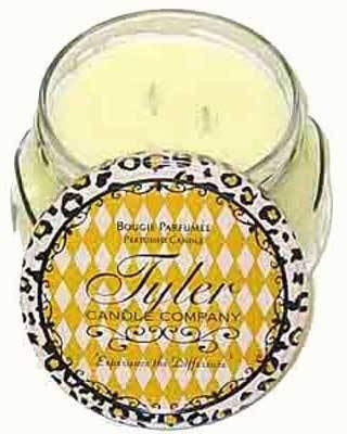 BUTTER VANILLA Tyler 11 oz Medium Scented Jar Candle