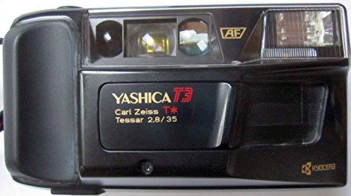 Yashica T3 Kleinbildkamera - 35mm Kamera in schwarz