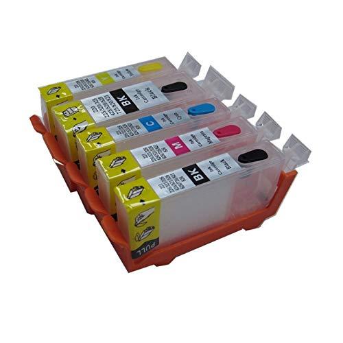 WTBH Cartucho de Tinta PGI-520 CLI-521 para el Cartucho de Tinta Canon PIXMA IP3600 IP4600 IP4700 MX860 MX870 MP540 MP550 MP560 MP620 MP630 MP640 MP640 Reemplace el Cartucho de Tinta