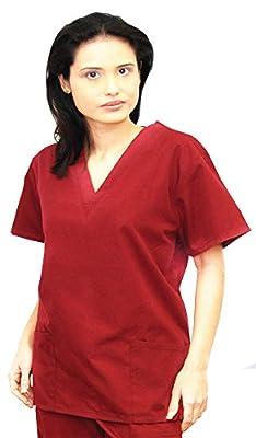 Denice Scrubs Medical Uniform For Women Scrubs Set Medical Scrubs Top and Pants 282