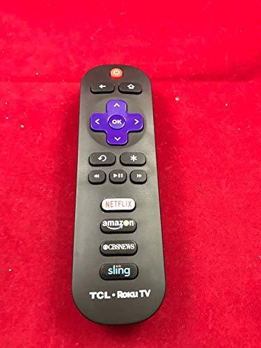 TCL RC280 Original Remote for Roku TV w/ CBS/Sling/Netflix/Amazon (Renewed)