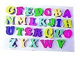 Molde de silicona letras del alfabeto pasta de azúcar