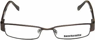 Lambretta Lam0019 Mens/Womens Rectangular Full-rim Spring Hinges Comfortable Stylish Modern Eyeglasses/Eyeglass Frame