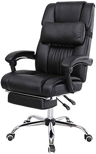 GSN Büro Ergonomischer Spiel E-Sport Stuhl, Computer-Executive-Racing Boss Beauty Massage Spielen Startseite PU-Leder mit hohen Rückenlehne Sessel