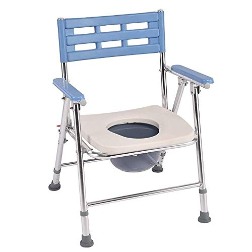Bathroom Wheelchairs RRH Bedside Commodes Folding Portable Mobile Toilet Chairs Bath Chair Potty Chair Elderly Seat Commode Chair