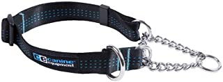 Canine Equipment Technika 1-Inch Martingale Dog Collar, 18 to 26-Inch, X-Large, Black