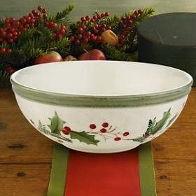 Lenox Holiday Max 70% OFF Gatherings Berry Bowl new Cheap mail order shopping All Purpose