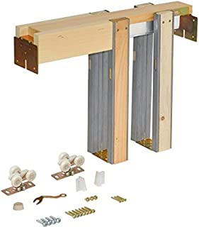 Johnson Hardware 1500 Series Commercial Grade Pocket Door Frame For 2x4 Stud Wall (32 Inch x 80 Inch)