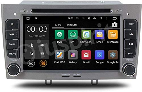 ANDROID GPS DVD USB SD WI-FI autoradio 2 DIN navigatore Peugeot 308 / Peugeot 408