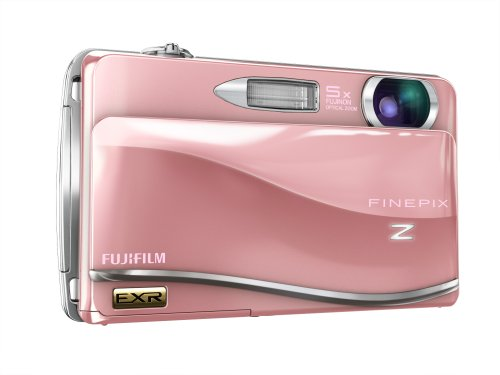 Fujifilm FINEPIX Z800EXR Digitalkamera (12 Megapixel, 5-fach opt. Zoom, 8,9 cm (3,5 Zoll) Display, Bildstabilisator) pink