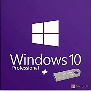 16 GB Kingston Flash drive with Windows 10 Pro version from Microsoft's website plus 2 The Serial of a Microsoft product