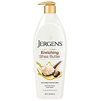 Jergens Shea Butter Deep Conditioning Moisturizer, 26.5 Fl Oz (Pack of 1) (Packaging May Vary)
