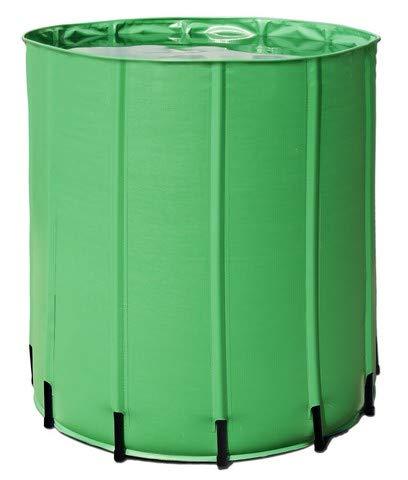 Aquaking Barril de agua plegable de 750 litros, PVC, depósito flexible, depósito de nutrientes, barril de lluvia