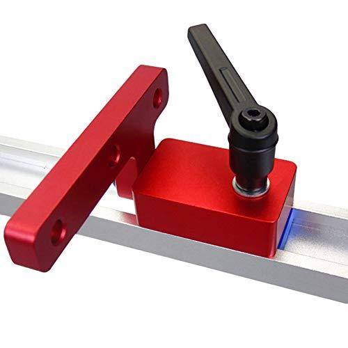 Führungsschiene Stop Für T-Nut T-Tracks, 30 Rutschen T-Schienen Holzbearbeitung Gehrung Spurstopper Rutschenstopper Für Holzbearbeitung