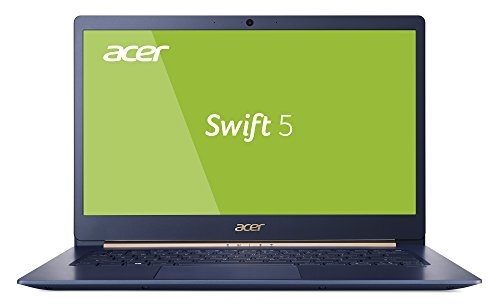 Acer Swift 5 (SF514-53T-73JN) 35,6 cm (14 Zoll Full-HD IPS Multi-Touch) Ultrabook (Intel Core i7-8565U, 8 GB RAM, 512 GB PCIe SSD, Intel UHD, Win 10) blau