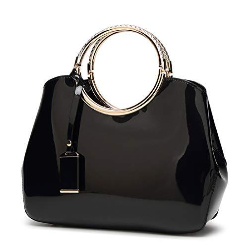bolsas de charol negras fabricante HBAPF