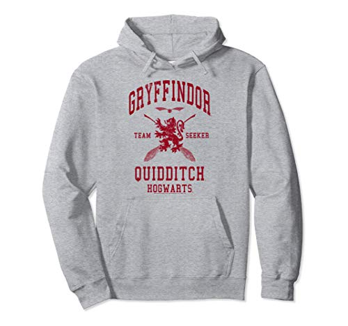 Harry Potter Gryffindor Quidditch Team Seeker Pullover Hoodie