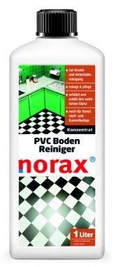 norax PVC Boden Reiniger 1 l - Kraftvolles und schützendes Konzentrat zur Grundreinigung, PVC Reinigung und PVC Pflege in einem Schritt