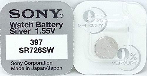 1 Pile SONY 397 SR726SW - 0% Mercure