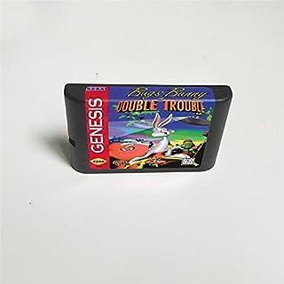 Lksya Bugs Bunny in Double Trouble - Carte de jeu MD 16 bits pour cartouche de console de jeu vidéo Sega Megadrive Genesis...
