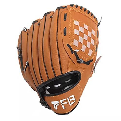 野球 グローブ 軟式 一般 オールラウド 内野手 右投げ キャッチボール 子供 少年 大人用 11.5 12.5 インチ 衝撃吸収パッド 内蔵 初心者 (12.5)