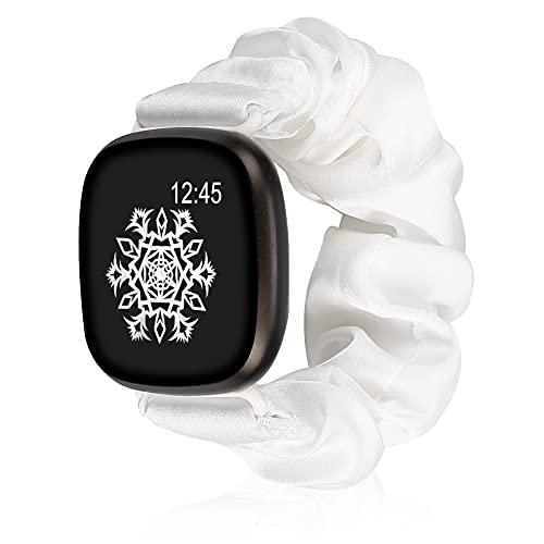 Cinturino elastico morbido compatibile con cinturino Fitbit Versa 3 Sense, cinturino in tessuto stampato per donna e ragazza Cinturino sostitutivo Fitbit Versa 3 / Sense Smart Watch