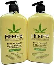product image for Hempz Sweet Pineapple & Honey Melon Herbal Body Moisturizer, 17 oz Pack of 2
