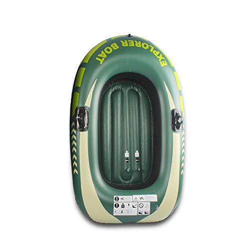 Kayak Inflable 2 Personas Bote Barca Hinchable Pequeña para Pesca - con 2 Remos para Niños Adultos