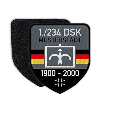Copytec Patch BW DSK Dienstzeit DSO Bundeswehr Division Schnelle Kräfte BW#29052