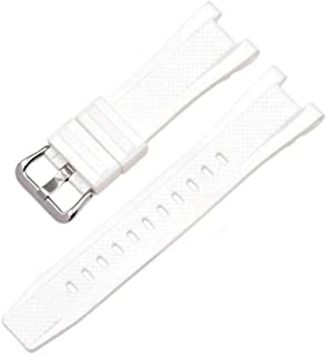 Watch Band Strap Pin Buckled Adjustable Resin Rubber Wristband Wristwatch Bands Replacement Accessories for GST-W300/GST-S110/GST-W110