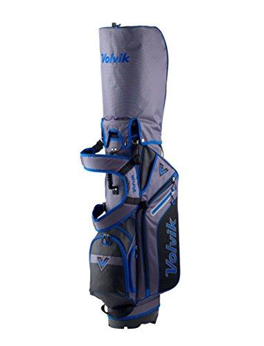 Volvik 20176-Way Sac de Golf trépied, Stand Bag, Bleu