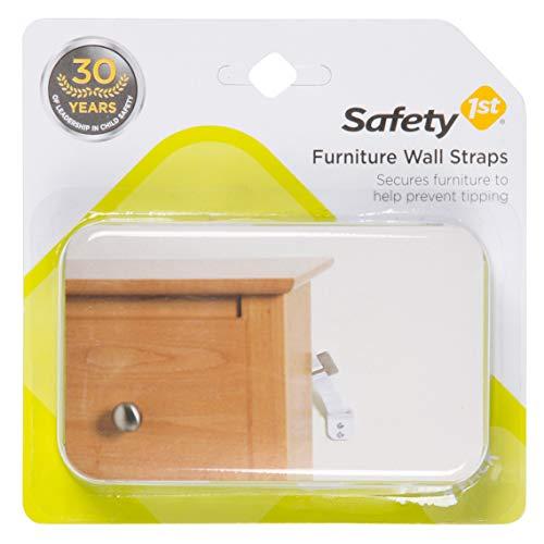 Safety 1st de Dorel Juvenile 11014 2 globules blancs Agencement de ferrures de fixation murales
