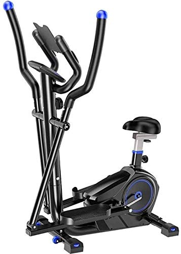 Noon-Sunshine Elliptical Cross Trainer Machines for Home Use Office Fitness Exercise Machine Core Trainers with Liquid Crystal Display