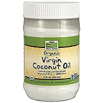 NOW Foods Organic Virgin Coconut Oil 12 oz
