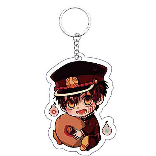 ruggito Llaveros colgantes de inodoro Hanako-kun Colgante Adorno colgante Anime Llavero para bolsos, llaves y estuches(Style 33)