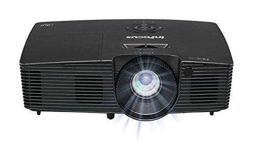 InFocus IN112xv SVGA 4:3 3D DLP-Projektor Beamer (HDMI, 3500 ANSI Lumen, 16000:1 Kontrast, 15000 Stunden Lampen, BrilliantColor)