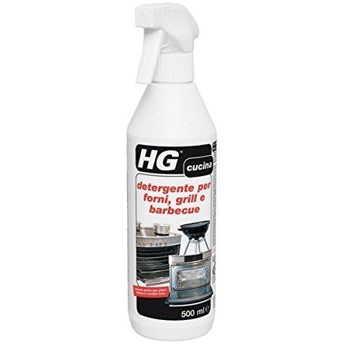 HG detergente per forni, grill e barbecue