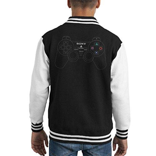 Cloud City 7 Playstation 2 Dual Analog Gaming Controller Mens Hooded Sweatshirt