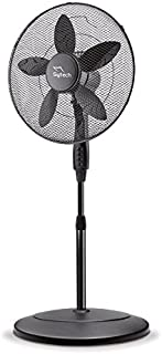 Sytech Sy-Vls18Ing Ventilador de pie de 5 aspas, 40 W