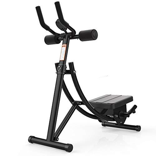 Massage-AED bauchtrainer für zuhause Faltbare Dünnbundmaschine AB Rocket Roller Slider Bauch Indoor Fitnessgeräte AB Untersetzer