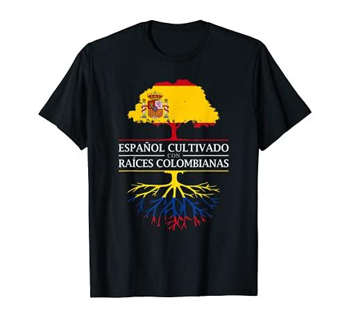 Cultivado Español con raíces Colombianas - Colombia Camiseta