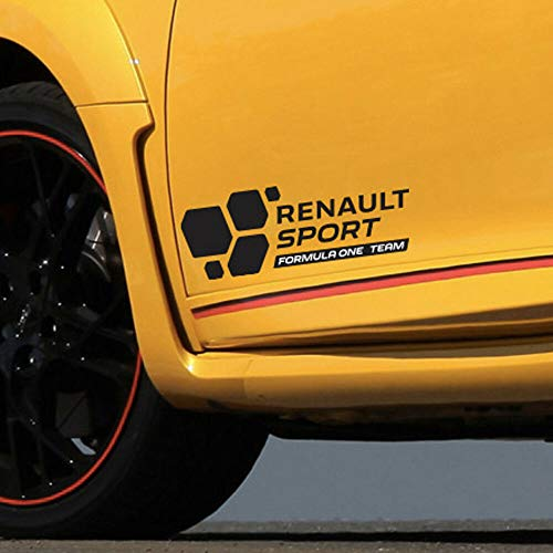 2pcs Renault Sport Formula One Team F1 2016 sticker decal autocollante Clio Megane