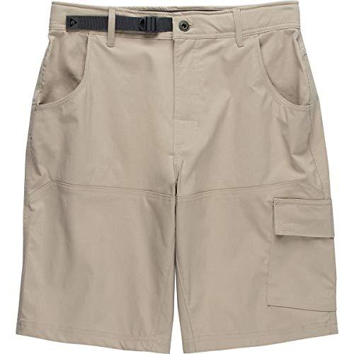 Gerry Men's Venture Flat Front Stretch Cargo Shorts (30, Hugbe Beige)