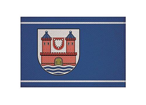 U24 Aufnäher Burg auf Fehmarn Flagge Aufbügler Patch 9 x 6 cm